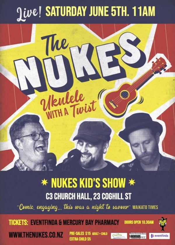 Nukes Ukulele Trio Queens Birthday Kids Show