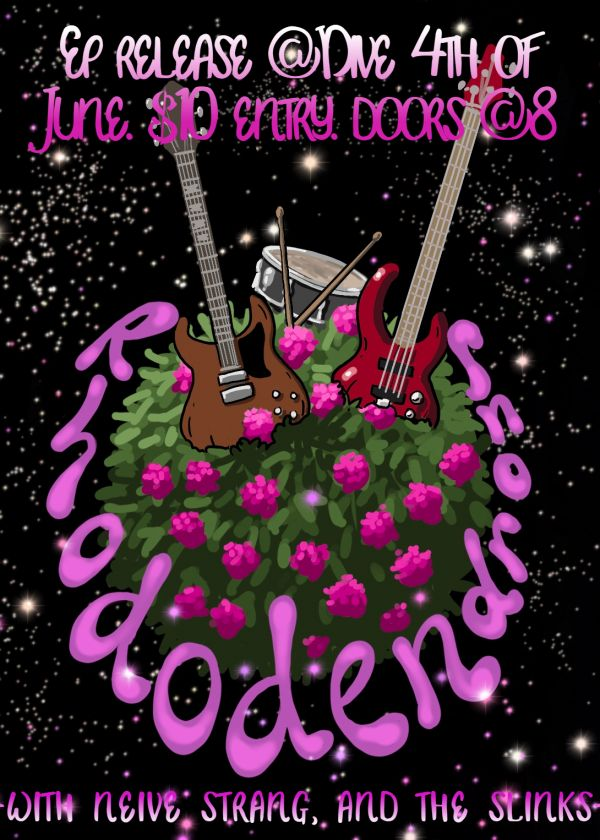 The Rhododendrons EP Release