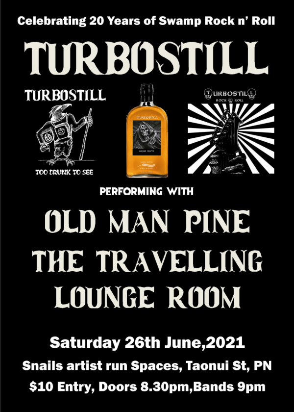 20 Years Of Turbostill With Old Man Pine And The Tlr