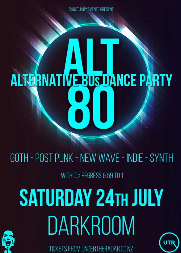 ALT80 - Alternative 80s Dance Party
