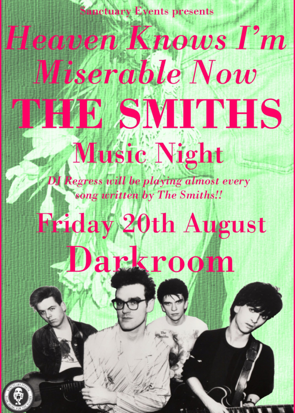 Heaven Knows I'm Miserable Now - THE SMITHS - Music Night
