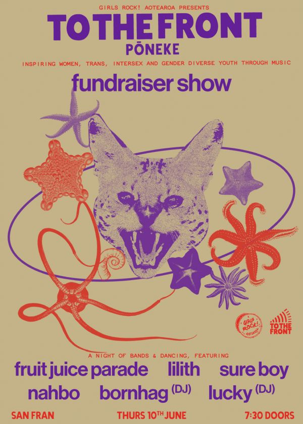 To The Front! Pōneke Fundraiser Show!