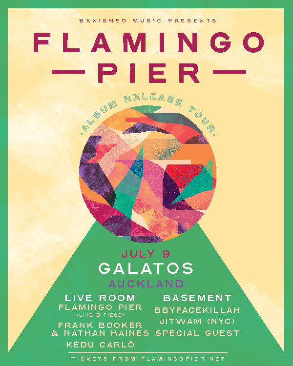 Flamingo Pier Album Release - Auckland (Full band) SOLD OUT