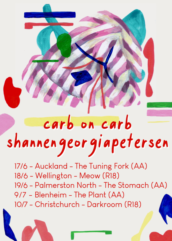 Carb On Carb And shannengeorgiapetersen Tour w/ Recitals And Welcomer