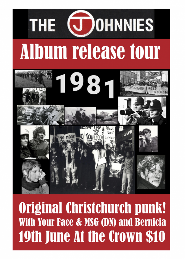 The Johnnies (CHCH) Album Release w/ Your Face, Bernicia and MSG