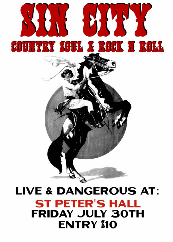 Sin City 'Live & Dangerous' Tour