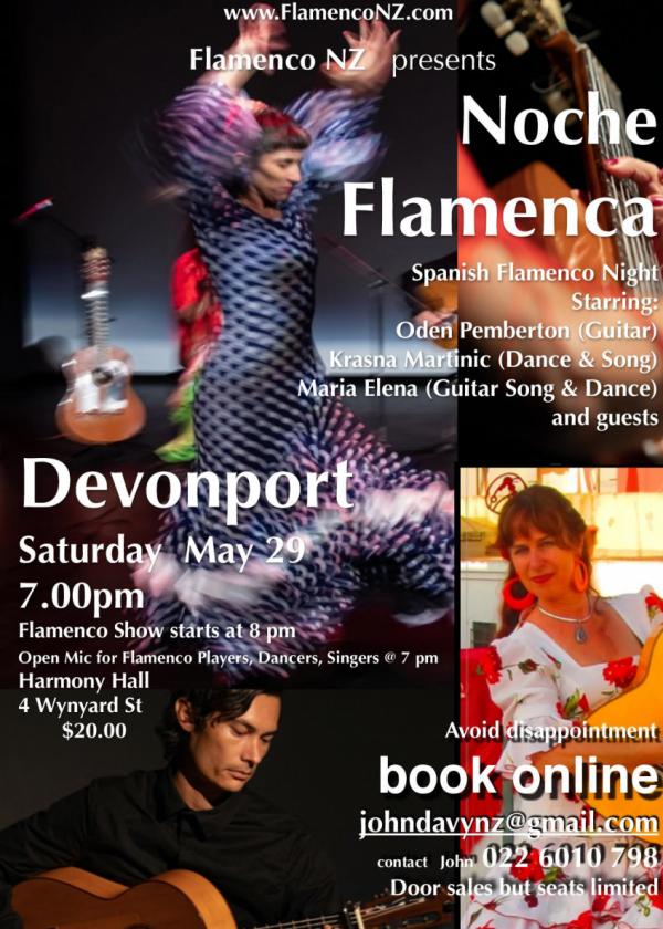 Noche Flamenca - Spanish Flamenco Night - SOLD OUT !!!