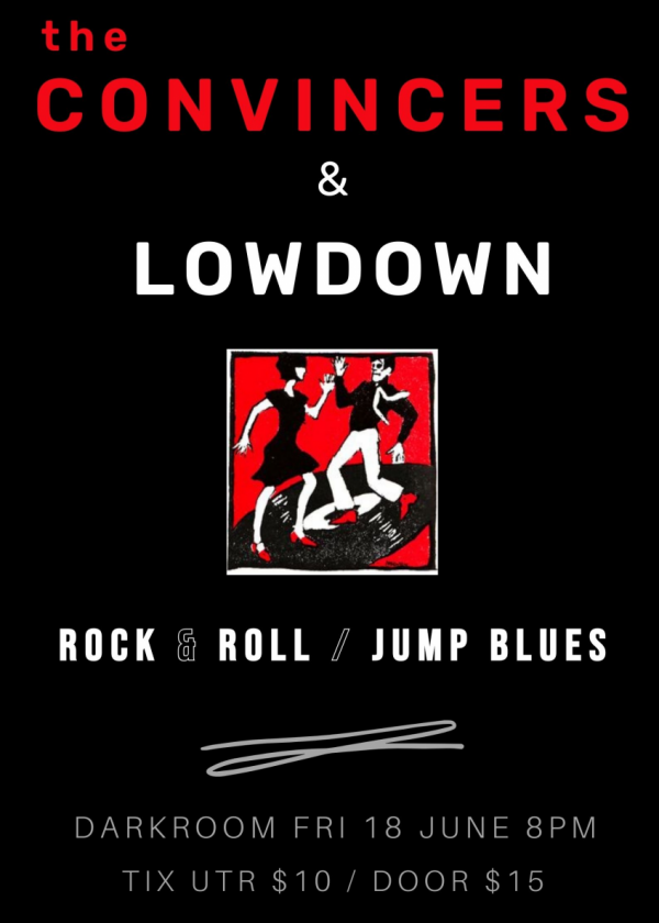 The Convincers And Lowdown - Killer Rock And Roll And Blistering Blues!