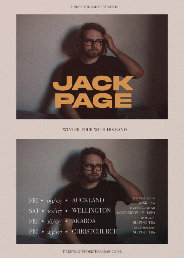 Jack Page - Winter Tour