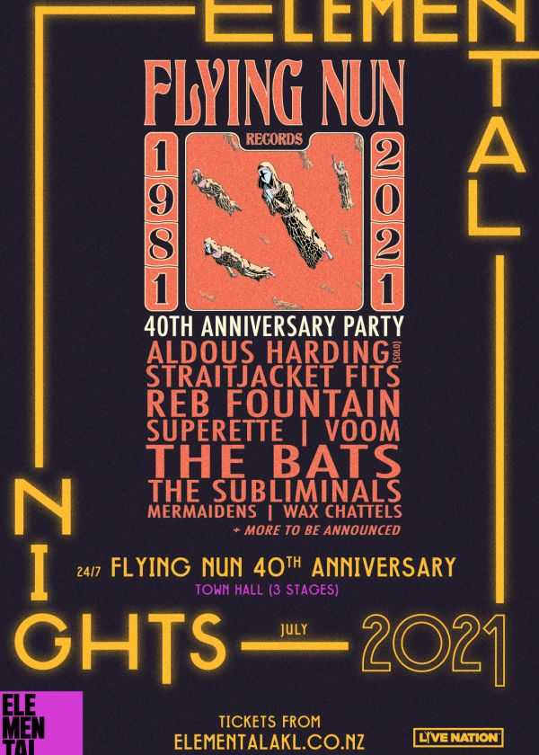 Elemental Nights - Flying Nun 40th Anniversary