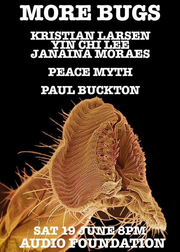 More Bugs Kristian Larsen Yin Chi Lee Janaina Moraes Peace Myth Bucko