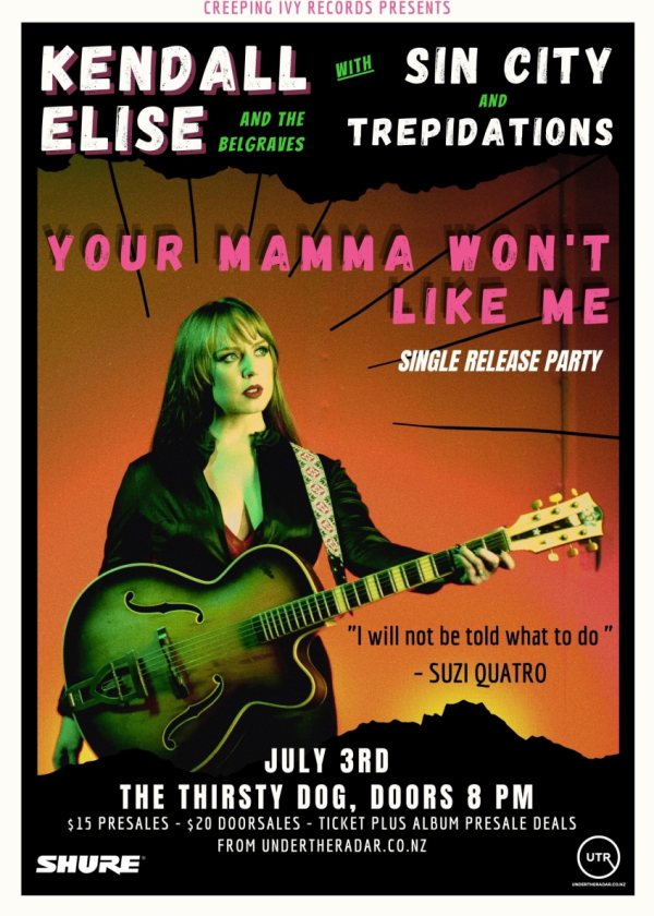 Kendall Elise - Your Mamma Won't Like Me Single Release Party