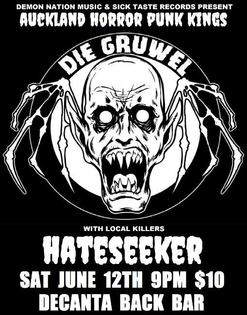 Die Gruwel + Hateseeker