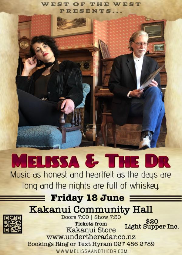 Melissa And The Dr Play Kakanui