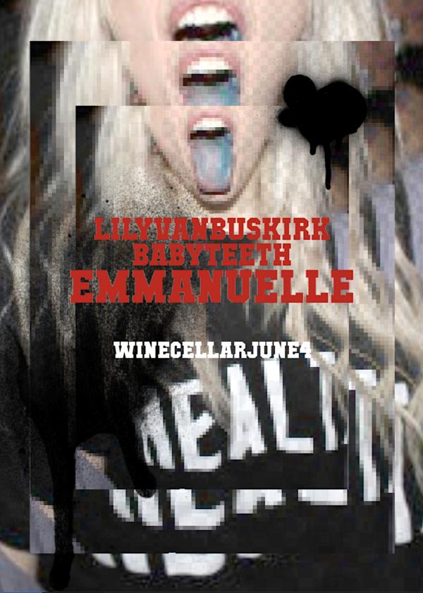 Emmanuelle, Babyteeth, Lily Van Buskirk