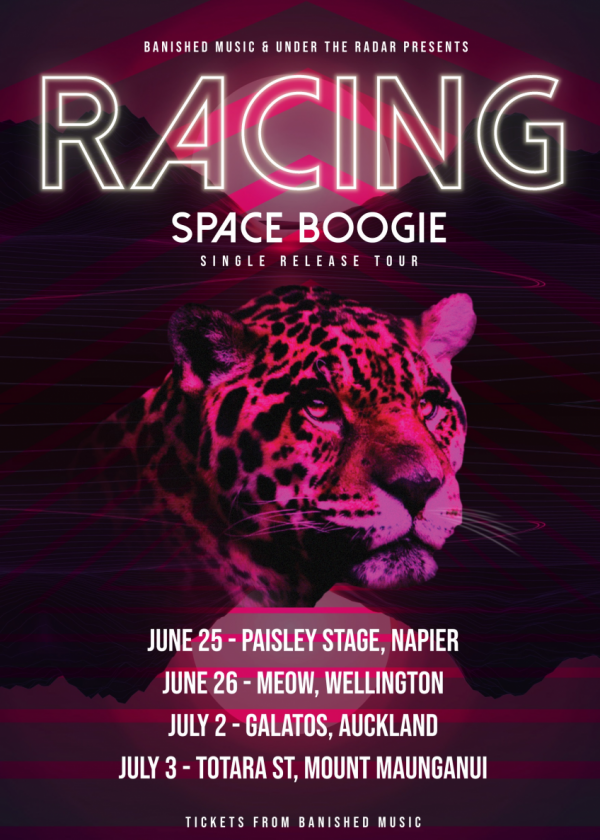 Racing Space Boogie Tour POSTPONED NEW DATE TBC