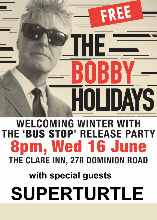 The Bobby Holidays Bus Stop Single Release