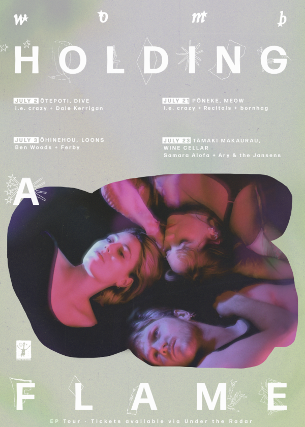 Womb - Holding A Flame - Winter Tour With Special Guests