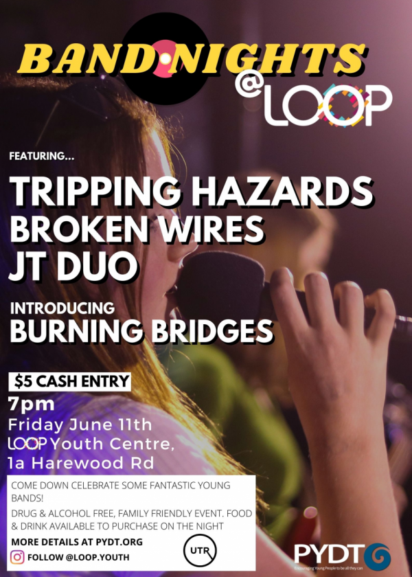 Band Nights @ Loop: Tripping Hazards, Broken Wires, Jt Duo And More!