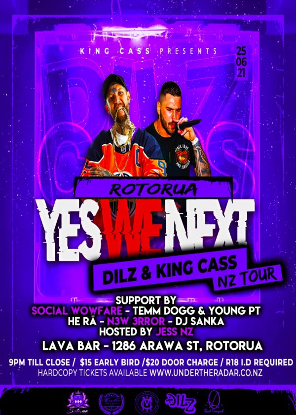 Dilz X King Cass - Yes We Next!
