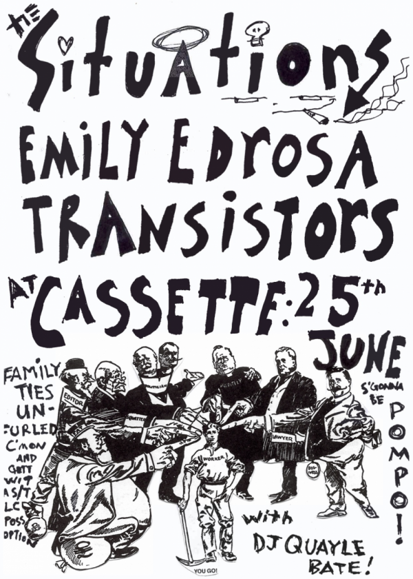 The Situations | The Transistors Split 7 Release Show w/ Emily Edrosa