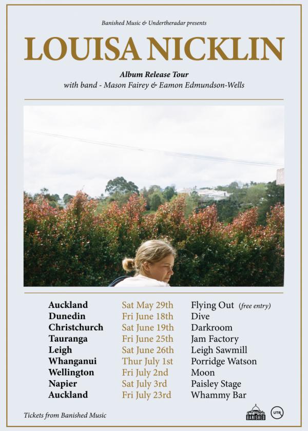 Louisa Nicklin - Album Release Tour
