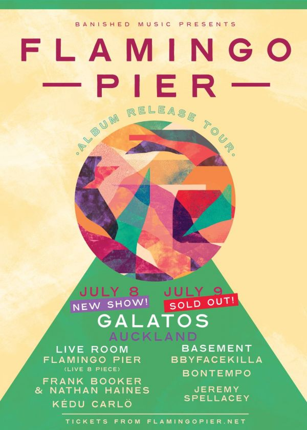 Flamingo Pier Album Release  (Full band) New Show