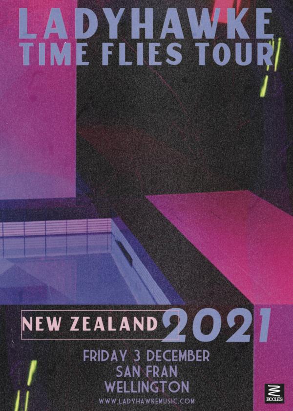 Ladyhawke - Time Flies Tour