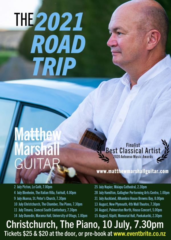 The 2021 Road Trip - Matthew Marshall, Guitar