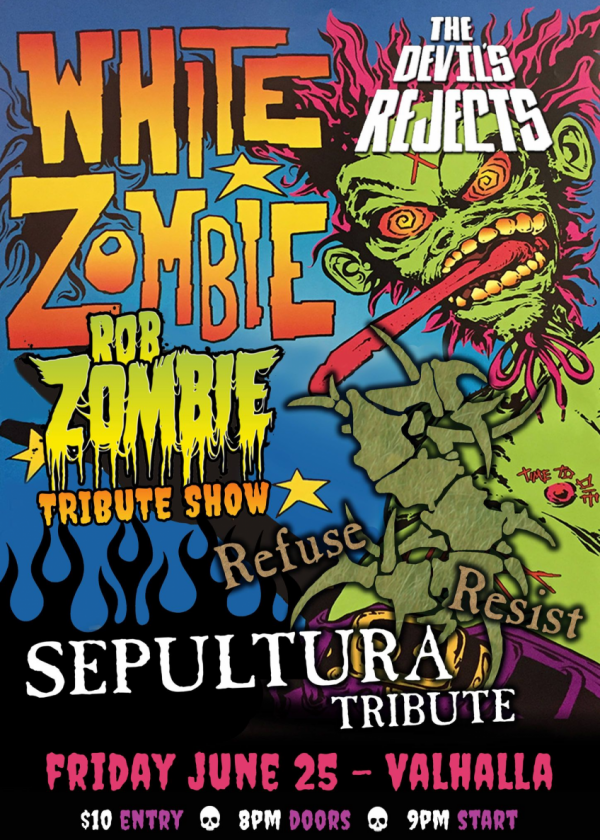 Zombie And Sepultura Tributes!