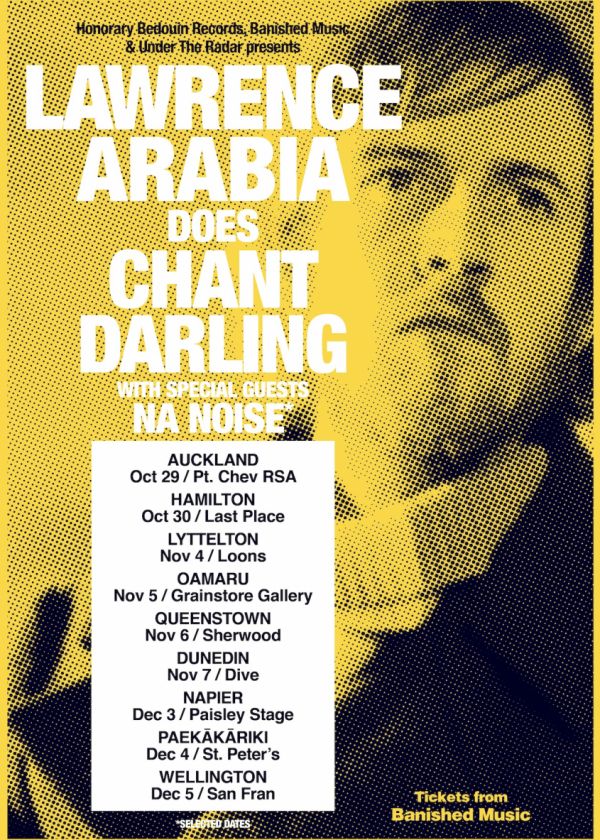 Lawrence Arabia Does Chant Darling