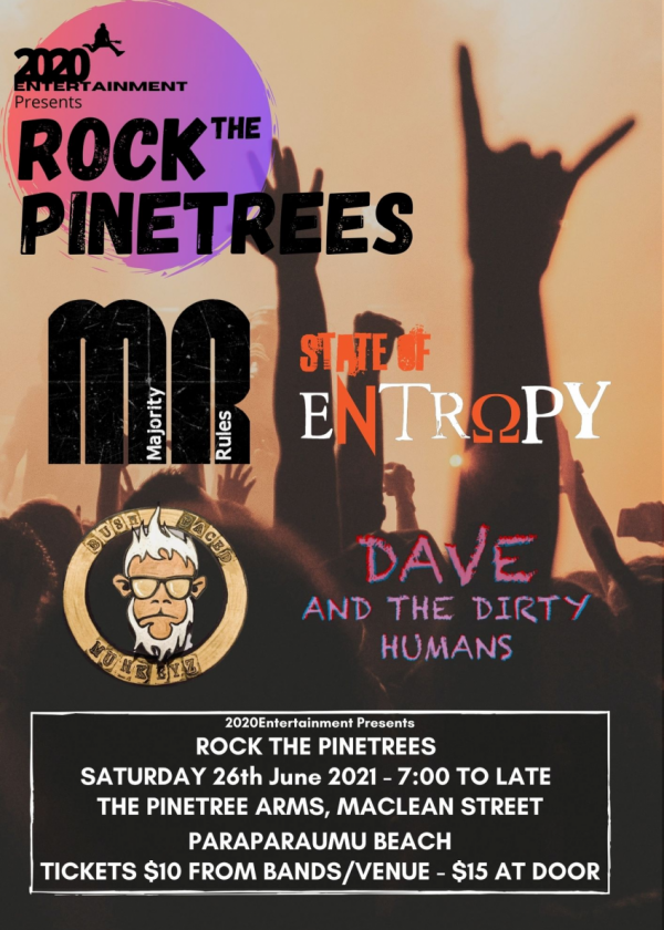 Rock The Pinetrees