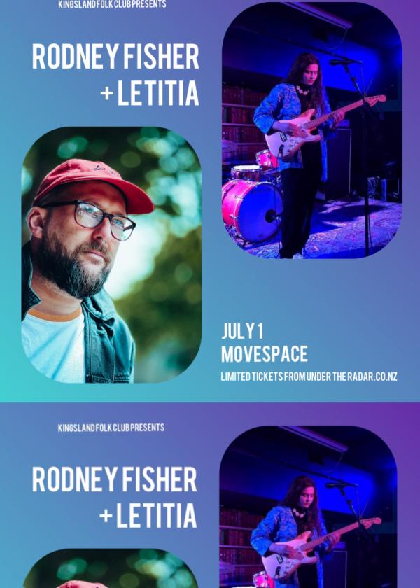 Rodney Fisher + Letitia