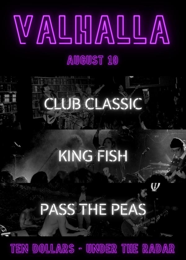 Club Classic / King Fish / Pass The Peas