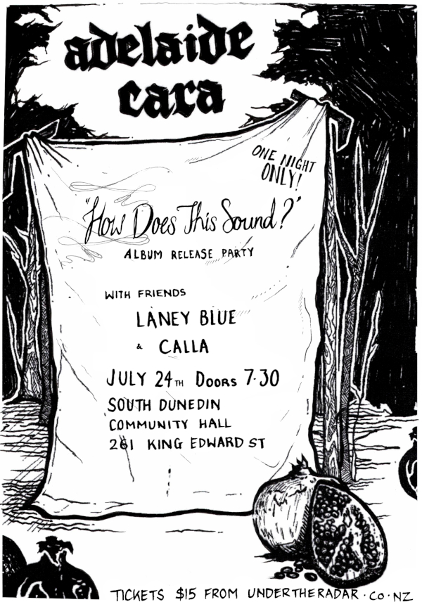 How Does This Sound?  Adelaide Cara Album Release
