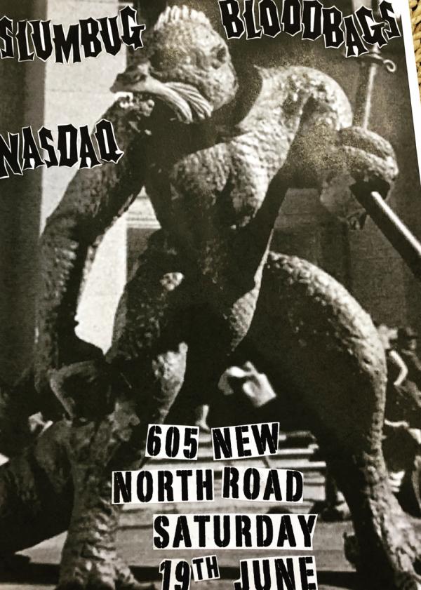 Bloodbags, Slumbug, Nasdaq