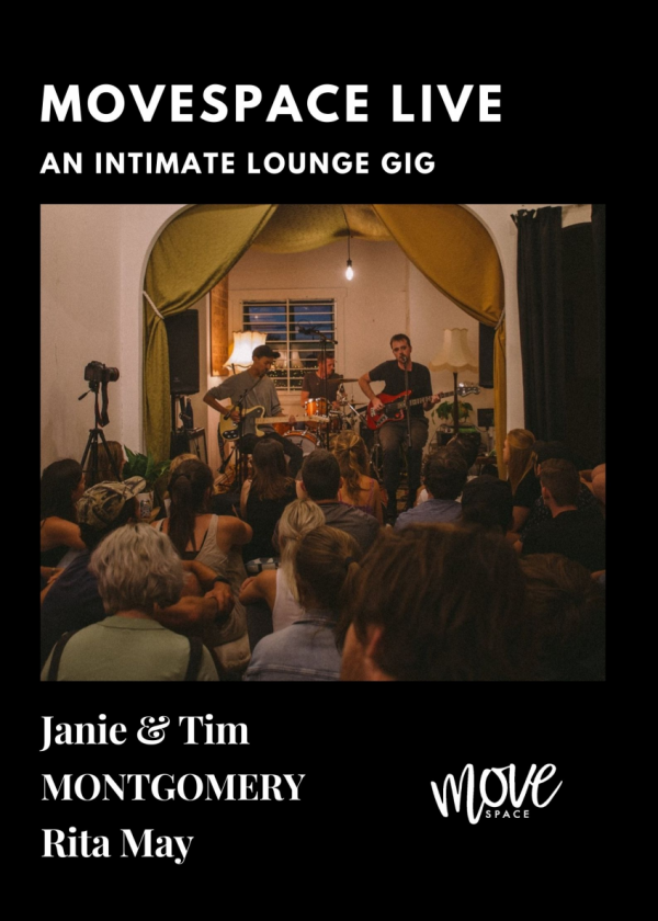 Movespace Live - Janie + Tim / Montgomery / Rita May