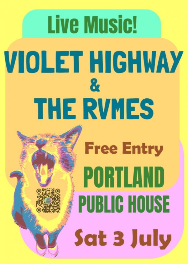 Violet Highway And The RVMES Take Portland Public House