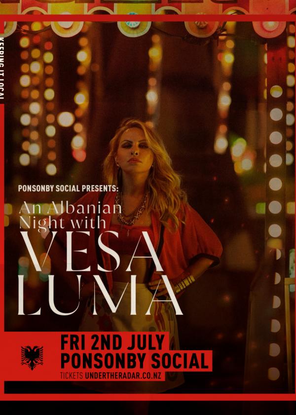 An Albanian Night w/ Vesa Luma Live
