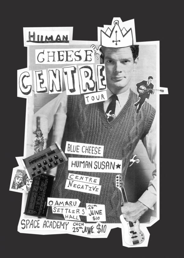 Centre Negative, Blue Cheese, Human Susan