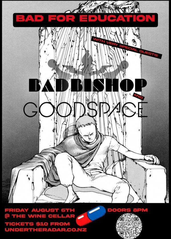 Bad For Education Album Release w/ Bad Bishop and Goodspace