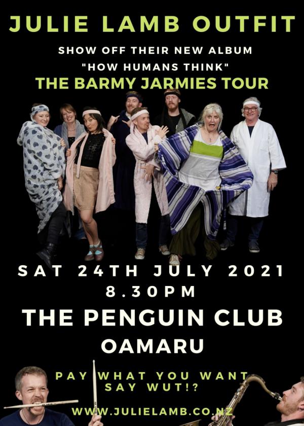 Julie Lamb Outfit: The Barmy Jarmies Tour