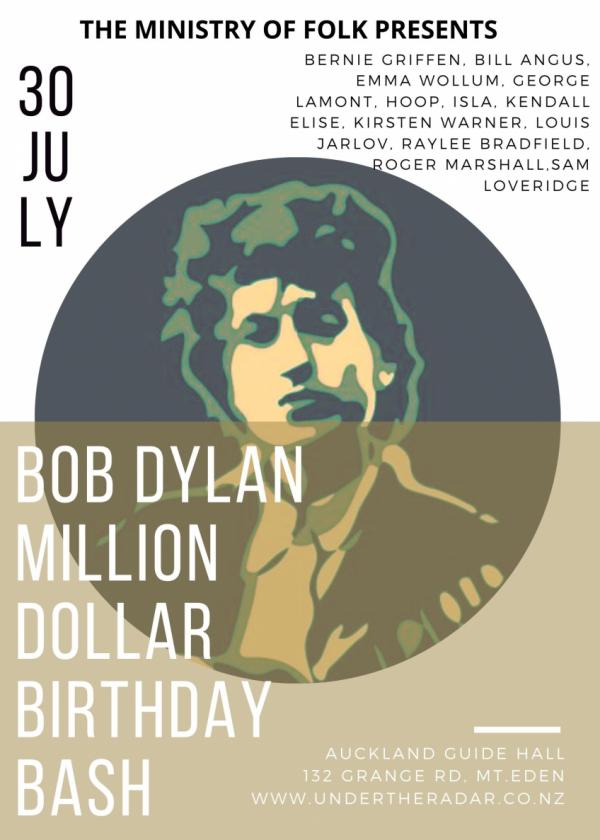 Ministry Of Folk - Bob Dylan Million Dollar 80th Birthday Bash