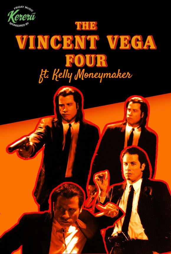 Vincent Vega Four ft. Kev Fitzsimons