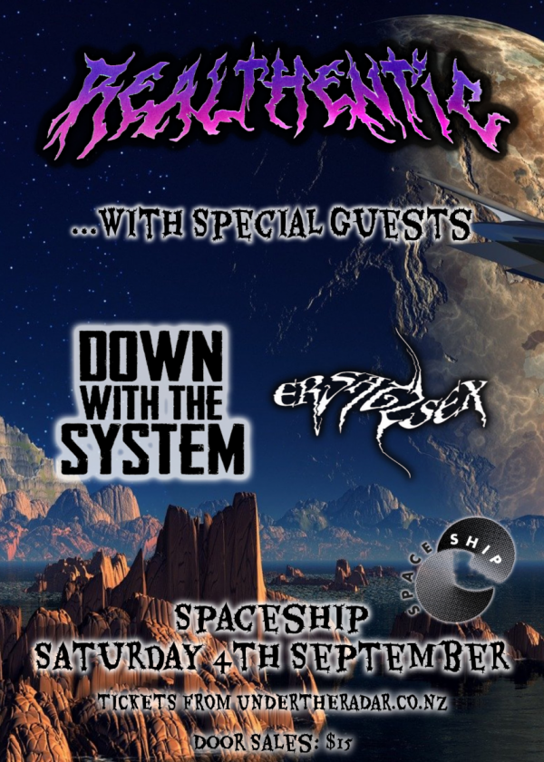 Winters End w/ Realthentic and Special Guests