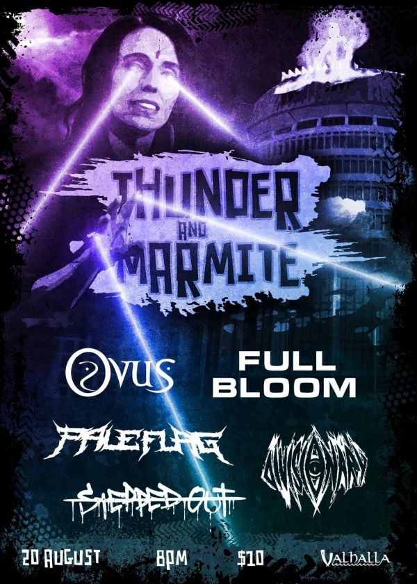 Thunder And Marmite ft DRXNES Full Bloom Pale Flag + Guests