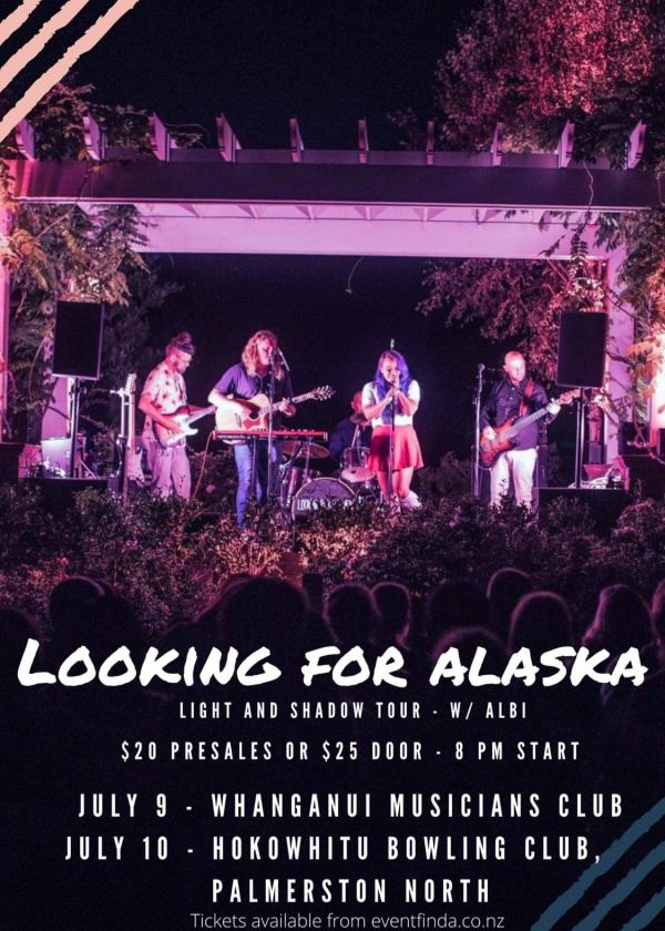 Looking For Alaska - Light And Shadow Album Release Tour