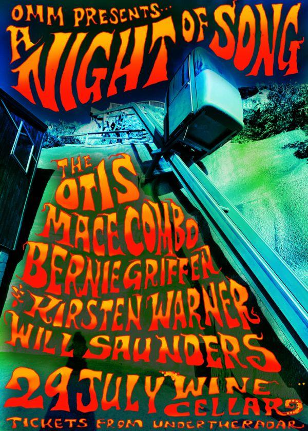 A Night Of Song, Otis Mace, Bernie Griffen, Kirsten Warner, Will Saunders