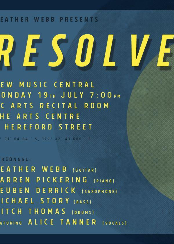 Heather Webb Presents: Resolve