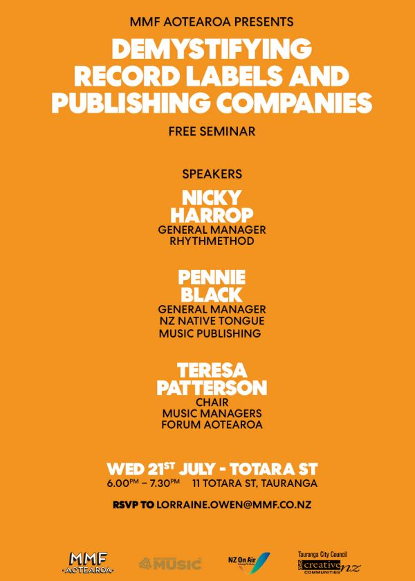 Demystifying Record Labels And Publishing Companies - Seminar